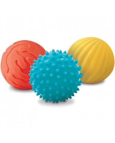 Conjunto 3 pelotas sensoriales