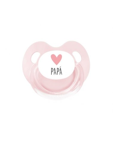 Chupete Retro Corazón Papá...