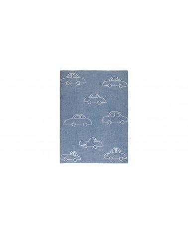 Alfombra Cars Azul 120x160