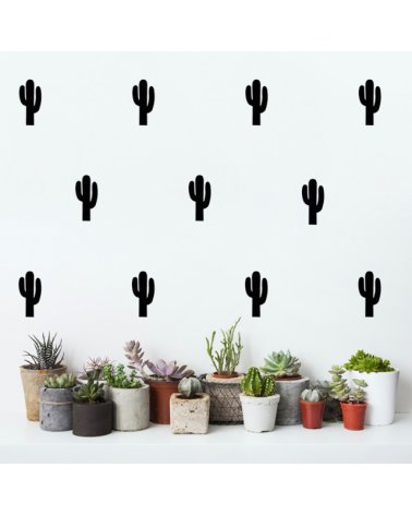 Pack Stickers Pared de Cactus