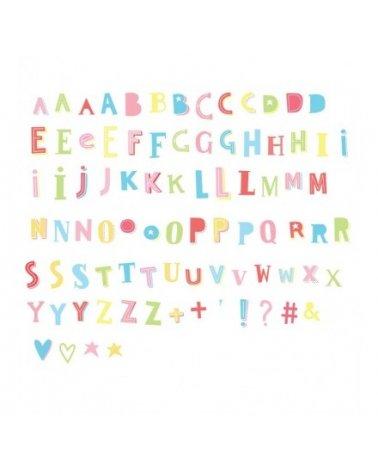 Set de Letras Funky Colors