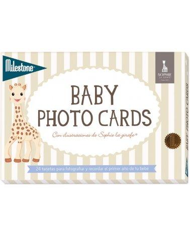 Tarjetas para fotos bebé...