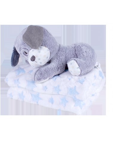 PELUCHE+MANTA DOG DE INTERBABY