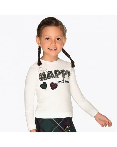 "CAMISETA M/L ""HAPPY"""