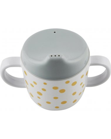 Taza con boquilla Happy Dots