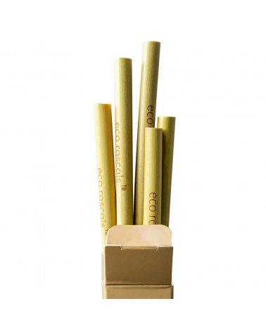 Pajitas de Bambú de Eco...