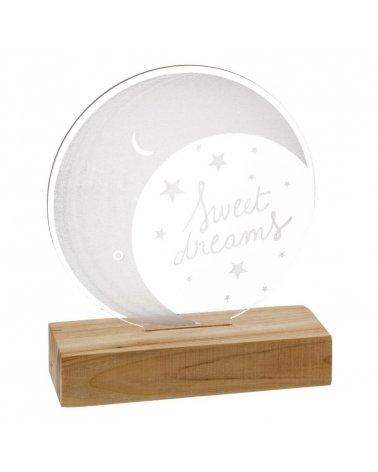 Lámpara infantil LED Luna...