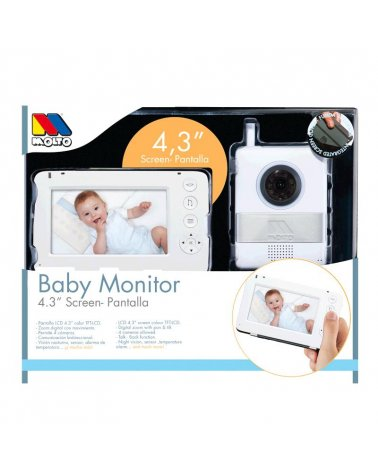 BABY MONITOR DIGITAL 4,3""