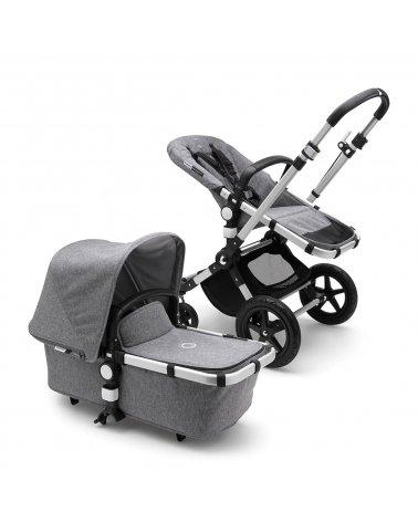 Coche de Bebé Cameleon 3 plus Chasis Aluminio y Tapizado Gris Melange Bugaboo