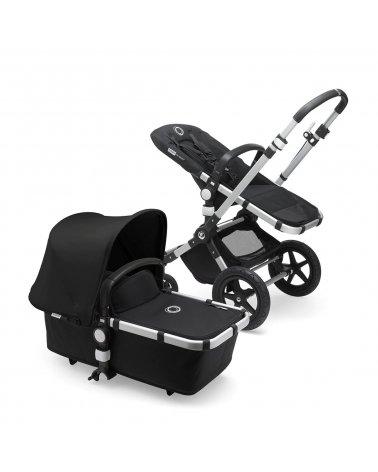 Coche de Bebé Cameleon 3 plus Chasis Aluminio y Tapizado Negro Bugaboo
