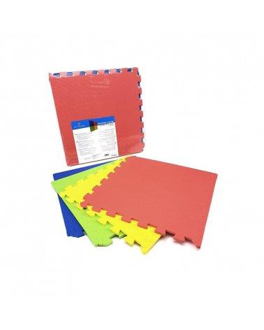 Alfombra de Puzzle de Bebé Color 45x45 cm de La Bolata