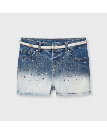 Pantalon corto tejano...