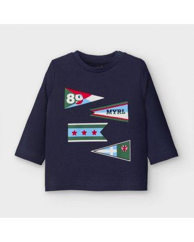 Camiseta m/l banderas Mayoral