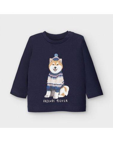 """Camiseta m/l """"shiba"""" Mayoral"""