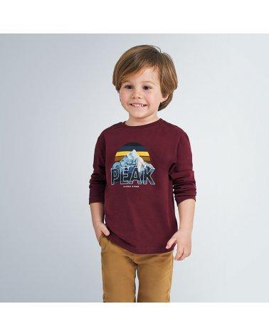 """Camiseta m/l """"peak"""" Mayoral"""