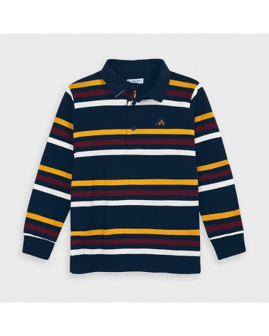 Polo m/l rayas Mayoral
