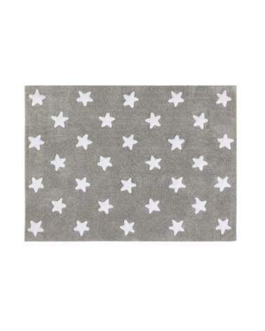 ALFOMBRA BASE GREY STARS WHITE