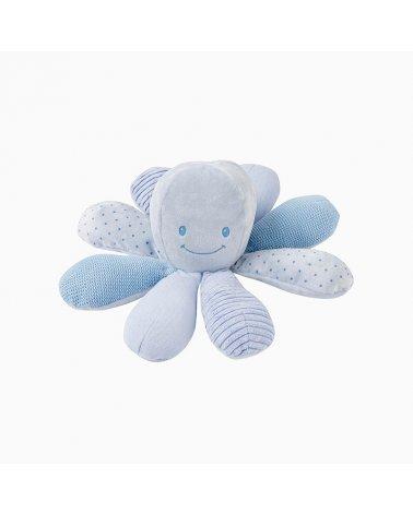 Pulpo de Actividades Lapidou Azul de Nattou