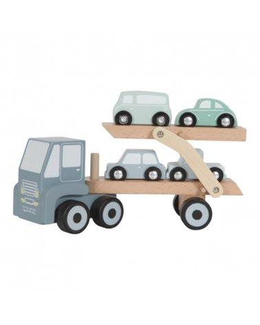 Camión de Madera con Coches de Little Dutch