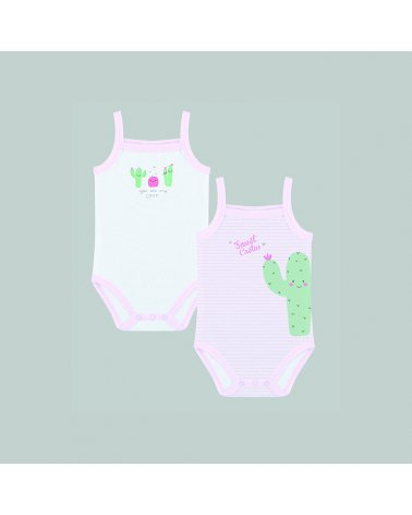 "Baby Set Body ""Sweet Cactus"" Yatsi"