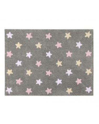 ALFOMBRA TRICOLOR STARS...
