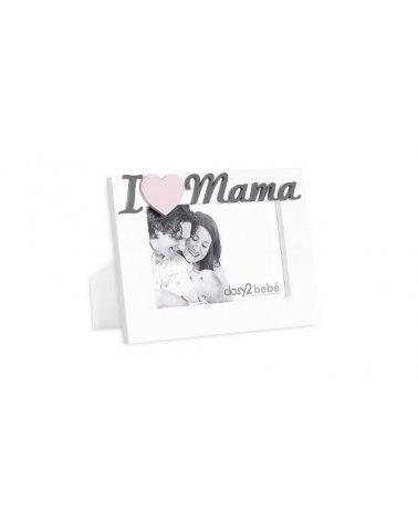 PORTAFOTO BLANCO I LOVE MAMA
