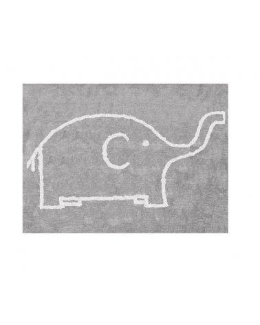 ALFOMBRA 120x160 ELEFANTE GRIS
